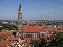Vecchia torre dell'orologio Fotografia Stock Libera da Diritti
