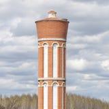 Vecchia torre di acqua Immagini Stock