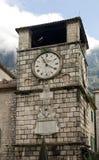 Vecchia torre di orologio Fotografia Stock