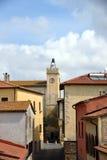 Vecchia torre di orologio Fotografie Stock