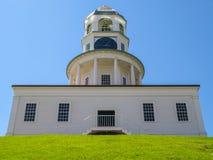 Vecchia torre di orologio a Halifax Fotografia Stock Libera da Diritti