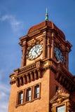 Vecchia torre di orologio a Richmond, la Virginia fotografia stock