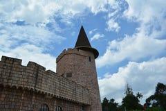 Vecchia torre forte Immagini Stock Libere da Diritti