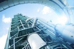 Vecchia torre industriale fotografie stock libere da diritti