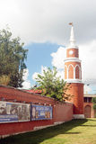 Vecchia torre Kremlin in Kolomna, Russia Immagini Stock
