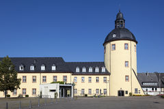 Vecchia torre in Siegen, Germania Immagini Stock Libere da Diritti