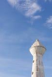 Vecchia torre sporca dell'orologio fotografia stock libera da diritti
