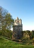 Vecchia torretta del castello in Largoet Immagine Stock Libera da Diritti