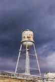 Vecchia torretta di acqua Fotografia Stock Libera da Diritti