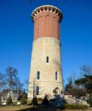 Vecchia torretta di acqua Fotografie Stock