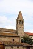 Vecchia torretta di chiesa Immagini Stock Libere da Diritti