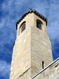 Vecchia torretta di chiesa a Gerusalemme Fotografia Stock