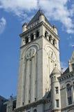 Vecchia torretta di orologio dell'ufficio postale Fotografia Stock