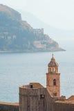 Vecchia torretta a Dubrovnik, Croatia fotografia stock