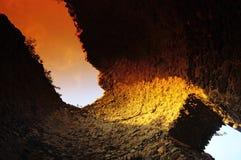 Vecchia torretta genoese nell'isola di Corsica Fotografia Stock