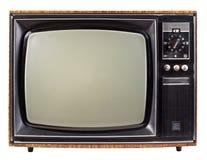 Vecchia TV Immagine Stock Libera da Diritti