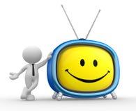 Vecchia TV royalty illustrazione gratis