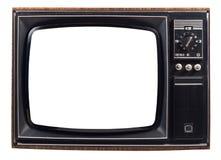 Vecchia TV Fotografia Stock