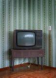 Vecchia TV Immagini Stock