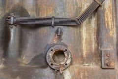 Vecchia uscita del tubo di scarico Fotografia Stock Libera da Diritti
