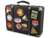 Vecchia valigia Fotografia Stock