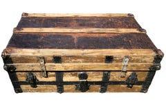 Vecchia valigia antica Immagine Stock Libera da Diritti