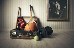 Attrezzatura di sport Immagine Stock