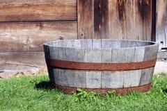 Vecchia vasca Fotografia Stock