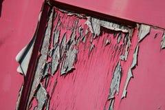 Vecchia vernice della sbucciatura Immagini Stock Libere da Diritti