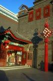 Vecchia via in Cina Fotografia Stock Libera da Diritti