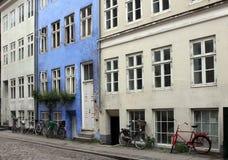 Vecchia via danese Fotografie Stock