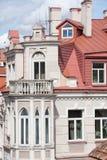 Vecchia via dei city_Piles di Vilnius Fotografie Stock