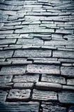 Vecchia via del cobblestone Fotografia Stock Libera da Diritti