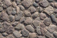 Vecchia via del cobblestone Immagine Stock Libera da Diritti