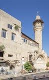 Vecchia via della città di Tel Aviv Immagini Stock