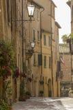 Vecchia via della Toscana Fotografie Stock