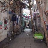 Vecchia via di Canton Cina fotografie stock libere da diritti