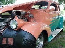 Vecchia via Rod di Chevrolet fotografie stock