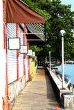 Vecchia via Tamsui Fotografia Stock
