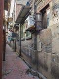 Vecchia vicinanza tradizionale nella concessione del francese di Tientsin Fotografia Stock