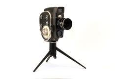 Vecchia videocamera Fotografie Stock