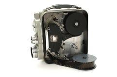Vecchia videocamera Immagini Stock