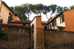 Vecchia villa italiana Fotografia Stock