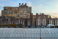 Vecchia vista della fabbrica Fotografia Stock Libera da Diritti