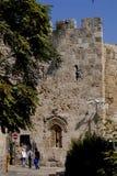 Vecchia vista di Gerusalemme Immagini Stock