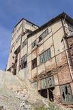 Vecchia zona delle miniere Fotografia Stock