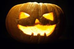 Vecchia zucca di Halloween Fotografia Stock Libera da Diritti