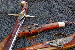 Vecchie armi Fotografie Stock