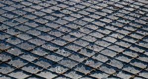 Vecchie assicelle del tetto Immagini Stock Libere da Diritti