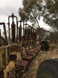 Vecchie attrezzature agricole 2 Fotografie Stock Libere da Diritti